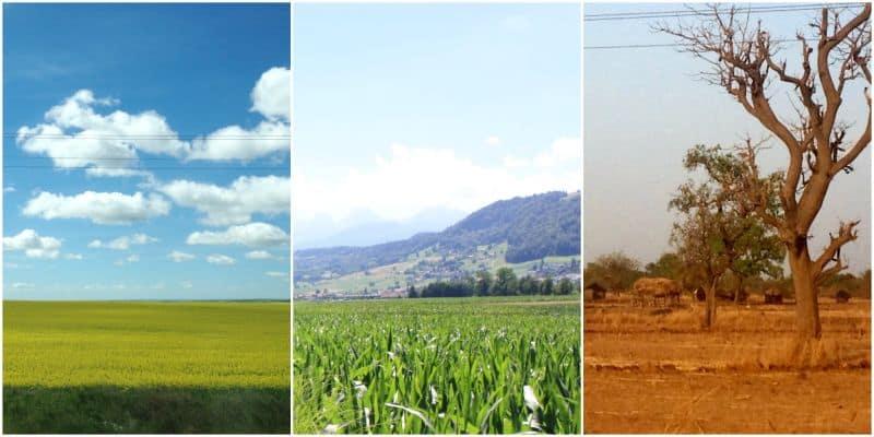 Photos of all of my homes: North Dakota, Switzerland and Burkina Faso